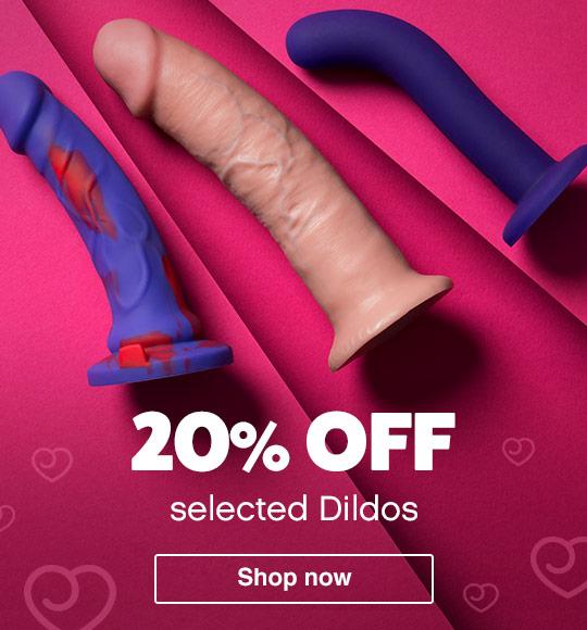20% off Dildos