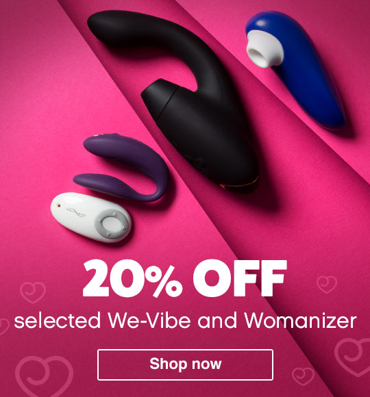 20% off We-Vibe and Womanizer
