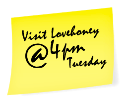 Visit Lovehoney at 4pm on Tuesday 12th October