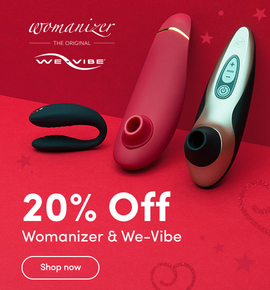 20% Off Womanizer and We-Vibe