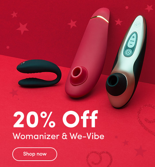 20% Off Womanizer We-Vibe