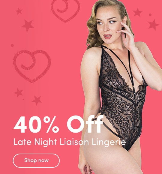 30% Off Fierce Wet Look Lingerie