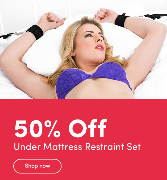 50% Off Under Mattress Restraint Set