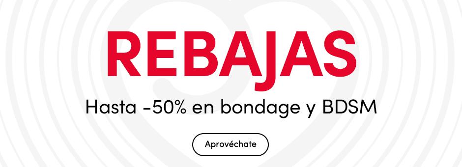 REBAJAS Hasta -50% en bondage y BDSM