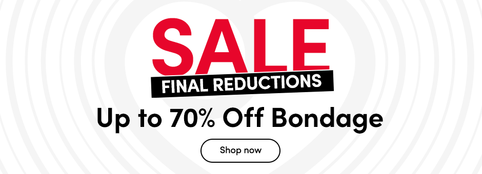 SALE Up to 50% off Bondage