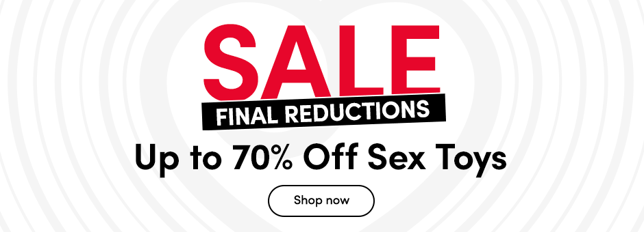 SALE Up to 50% off Sex Toys