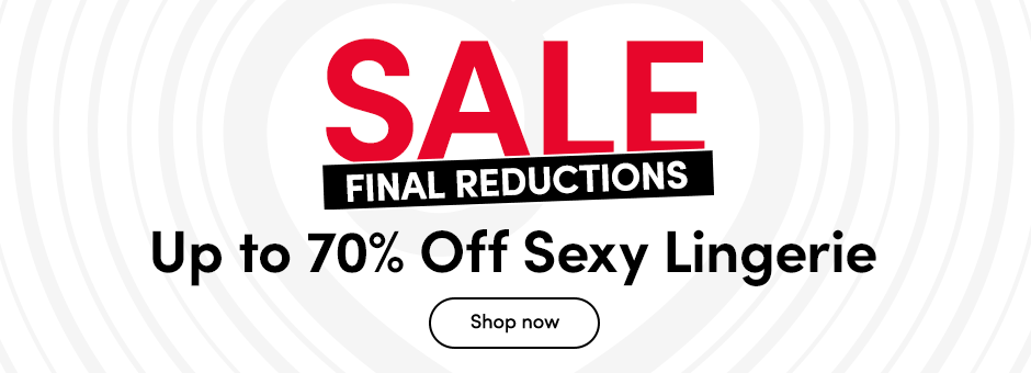 SALE Up to 50% off Sexy Lingerie