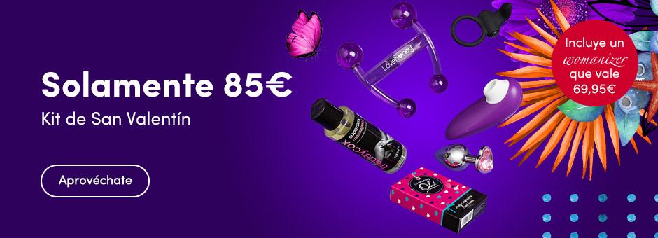Solamente 85€ Kit de San Valentín
