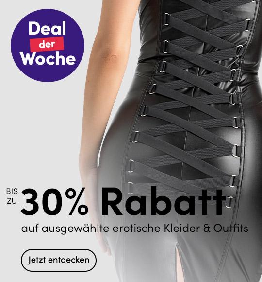 Deal der Woche: Bis zu 30% Rabatt auf erotische Outfits - Lovehoney.de