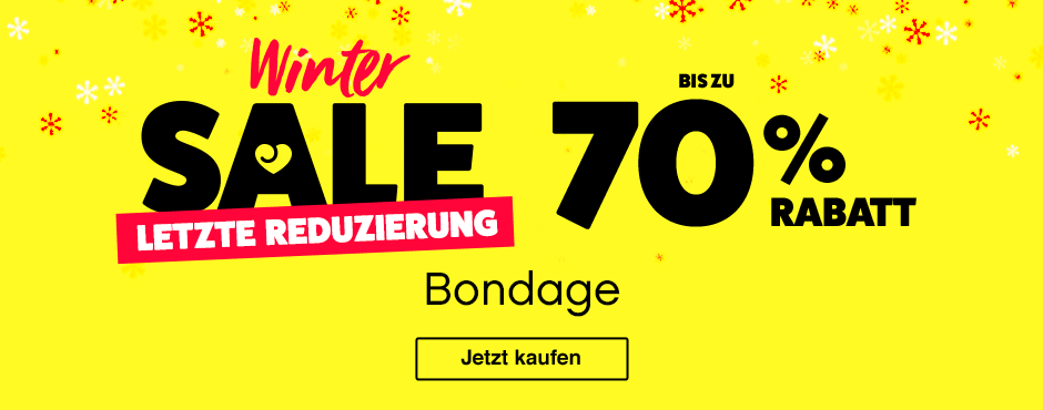 Winter Sale Up to 70% Off Bondage