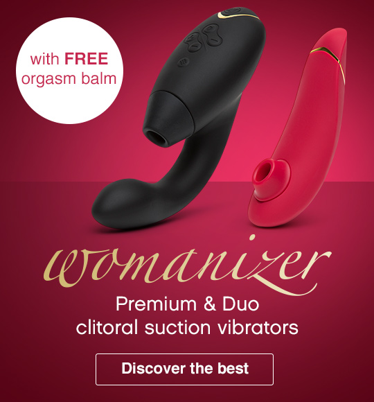 Womanizer - premium and duo with FREE orgasm balm