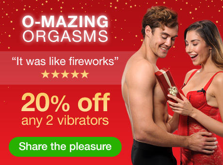 O-Mazing Orgasms - 20% off any 2 vibrators