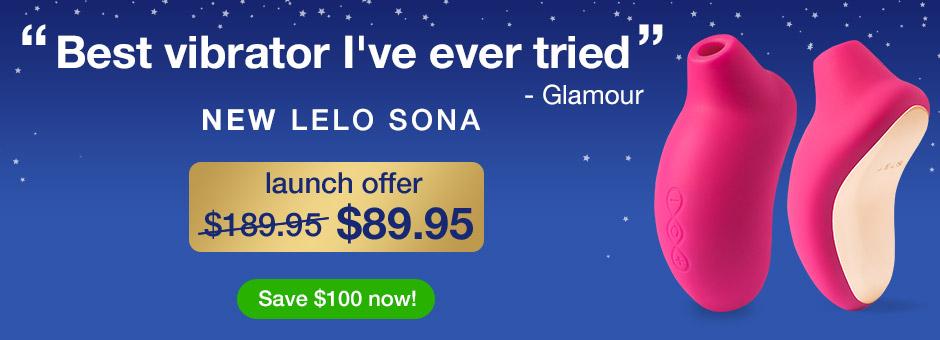 NEW LELO Sona Suction Vibrator - Launch Offer