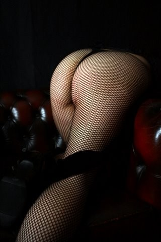 Fishnets Over Leather