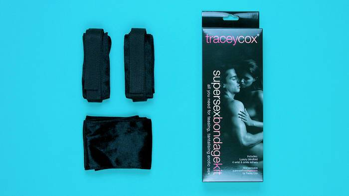 Tracey Cox Supersex Rechargeable Remote Control Strapless Strap